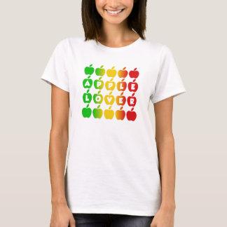 Camisa das maçãs - escolha o estilo & a cor