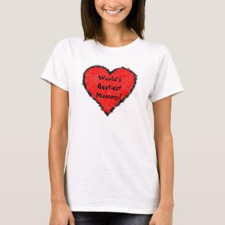 Camisa das mamães do mundo a melhor