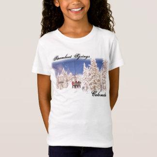 Camisa das meninas de Steamboat Springs