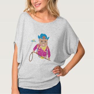 Camisa das senhoras de Flowy da vaqueira