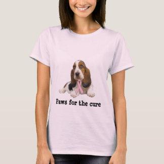 Camisa das senhoras do cancro da mama de Basset