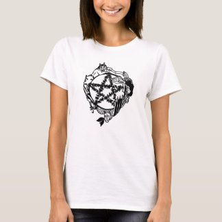 Camisa das senhoras do Pentacle do país das fadas