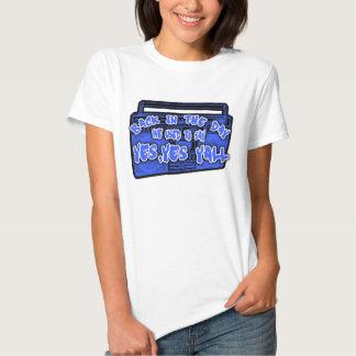 Camisa das senhoras HIP HOP Tshirts
