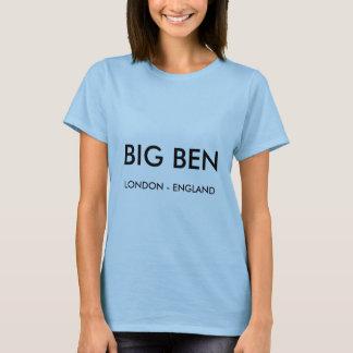 Camisa das senhoras Londres T, BIG BEN, Londres