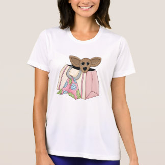 Camisa das senhoras T, com o animal de estimação Tshirt