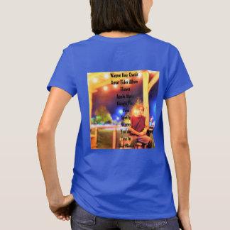 Camisa das senhoras T de Chavis do raio de Wayne