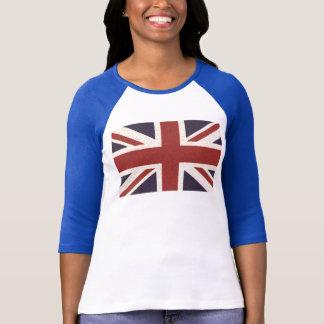 Camisa das senhoras Union Jack