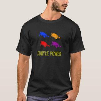 Camisa das tartarugas do poder 4 da tartaruga