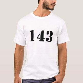 Camisa de 143 jérseis
