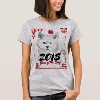 Camisa de 2018 mulheres do símbolo da pintura da