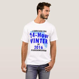camisa de 24 horas do inverno