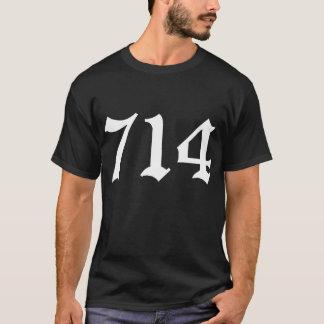 Camisa de 714 Condados de Orange (preto)