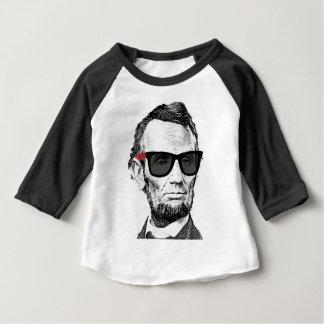 Camisa de Abraham Lincoln do bebê - T engraçado de
