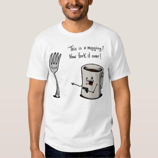Camisa de agressão t-shirt