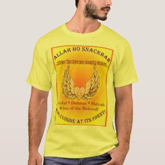 Camisa de Allah Ho Snackbar