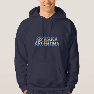 Camisa de Argentina Moletom Com Capuz