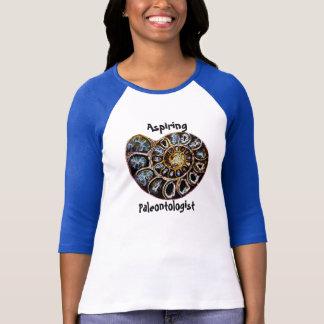Camisa de aspiração do Paleontologist