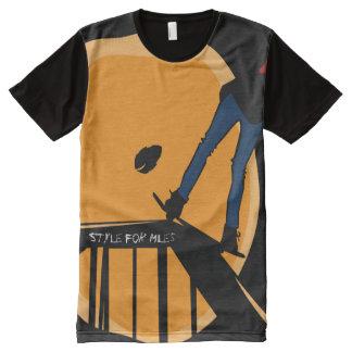 Camisa de Athelic dos patinadores pro