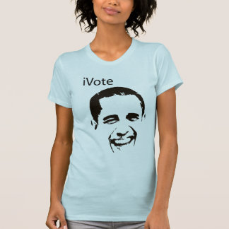 camisa de Barack Obama do iVote