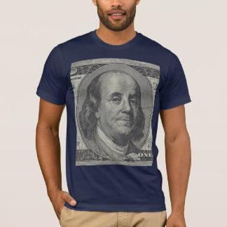 camisa de Ben Franklin de 100 dólares