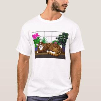 Camisa de bocejo do gato T