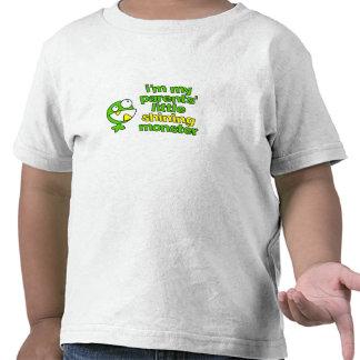 Camisa de brilho do monstro t-shirts