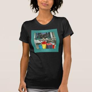 Camisa de Café Roma Camiseta