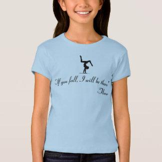 Camisa de caída do acro do circo da ioga da