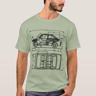 Camisa de Cali GA do estilete & do Imp do raio de