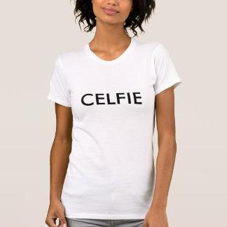 Camisa de Celfie Camiseta