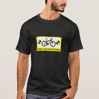 Camisa de ciclagem engraçada de T