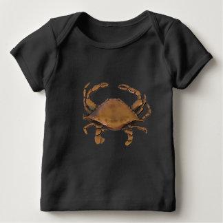 Camisa de cobre do bebê T do caranguejo