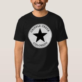 Camisa de Colorado T da angra do aleijado Tshirts
