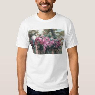 Camisa de conexão em cascata das senhoras das tshirt