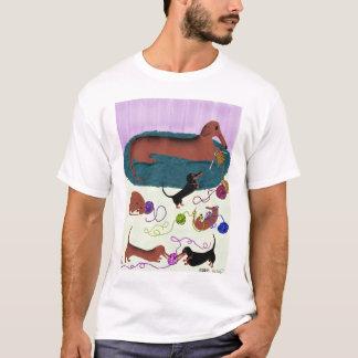 Camisa de confecção de malhas do Dachshund