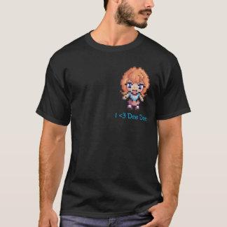 Camisa de Dee Dee do pixel