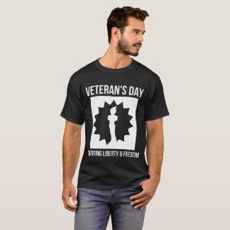 Camisa de defesa da liberdade e da liberdade T do