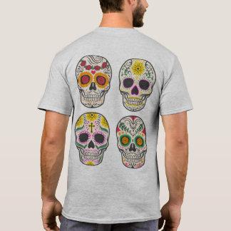 Camisa de Diâmetro de los Muertos Crânio |