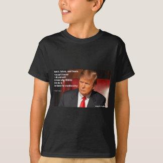 Camisa de Donald Trump, camisa política, eleição