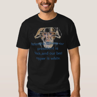CAMISA de eMINEM-oBAMA T engraçada Camisetas