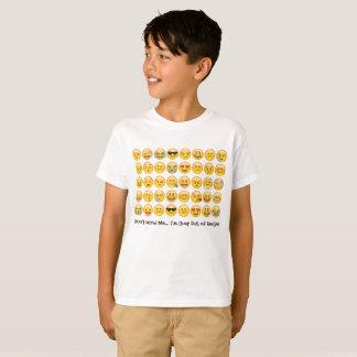 Camisa de Emoji para miúdos