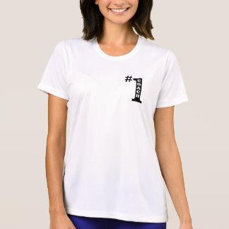 Camisa de esporte das senhoras do treinador #1