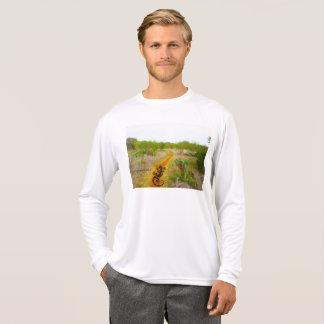 Camisa de esporte do país do monte do deserto das