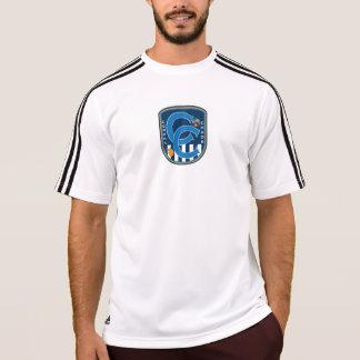 Camisa de esportes de Adidas do caos da corona