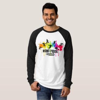 Camisa de esportes do logotipo do respingo