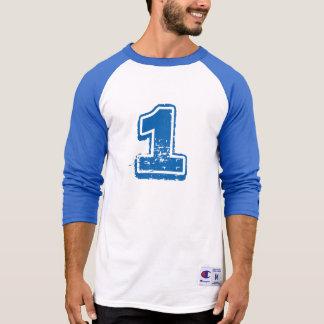 Camisa de esportes longa da luva de Carolina