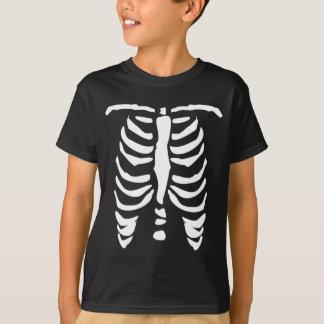 Camisa de esqueleto de t para miúdos | o Dia das