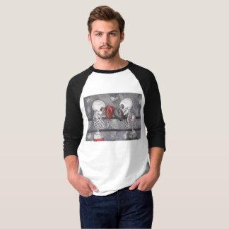 Camisa de esqueleto do basebol do encaixotamento
