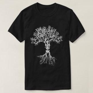 Camisa de esqueleto do impressão da árvore