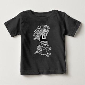 Camisa de esqueleto do Mohawk para o bebê